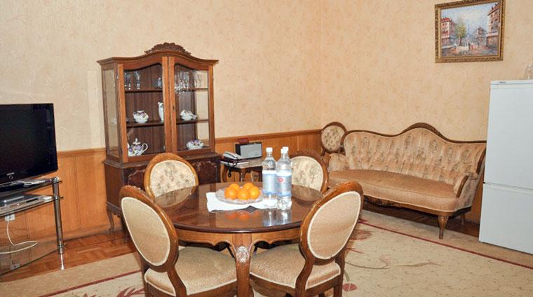 Гостиная 2 местного, 2 комнатного, Люкса санатория Красные камни в Кисловодске