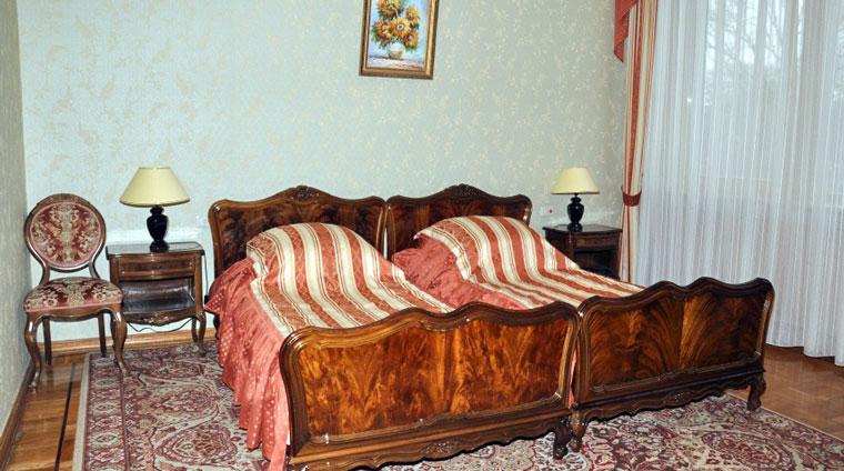 Размещение на отдых в 2 местном, 2 комнатном, Люксе в санатории Красные камни. Кисловодск