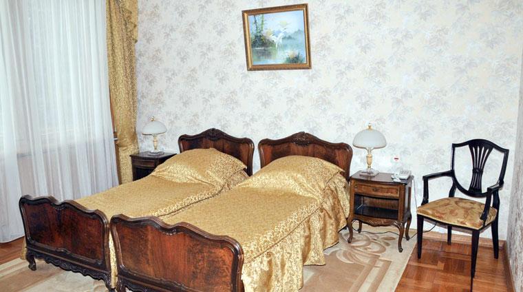 Спальня 2 местного, 3 комнатного, Люкса в санатории Красные камни в Кисловодске