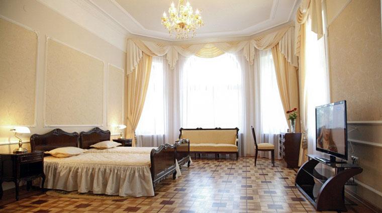 Спальня дачи 1 санатория Красные камни. Кисловодск