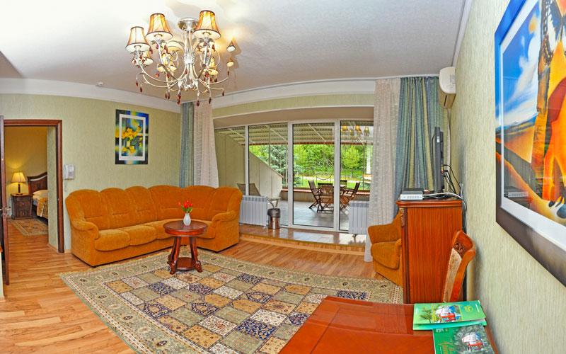 2 местный, 2 комнатный, Люкс-Посольский в санатории Вилла Арнест в Кисловодске