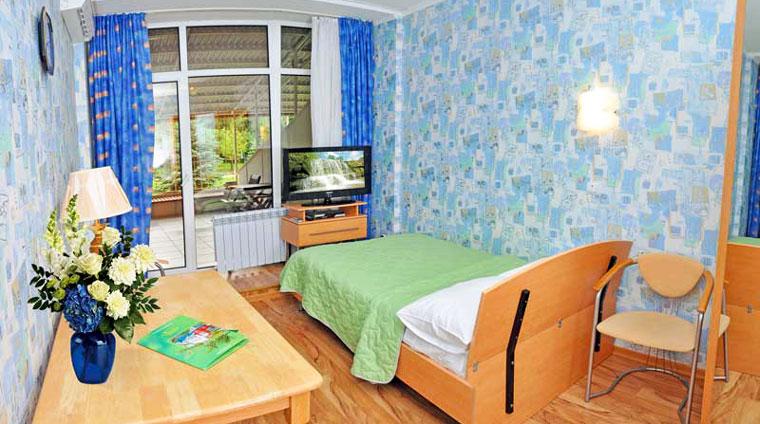 Кисловодск. Оснащение 1 местного, 1 комнатного, Стандарта санатория Вилла Арнест