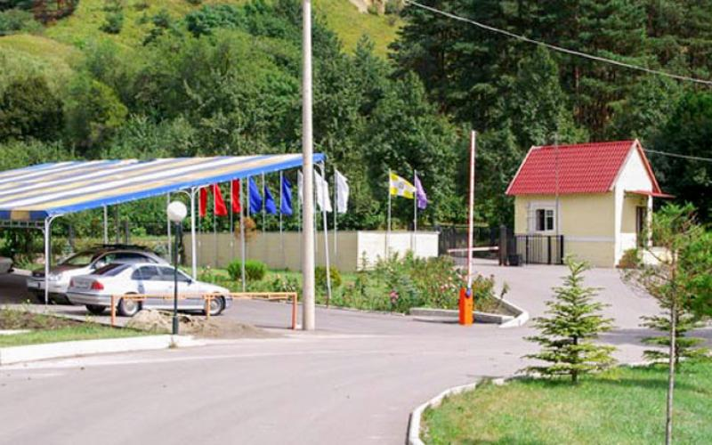 Парковка в санатории Вилла Арнест в Кисловодске
