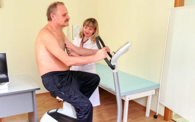 Кисловодск. Диагностика в санатории Вилла Арнест