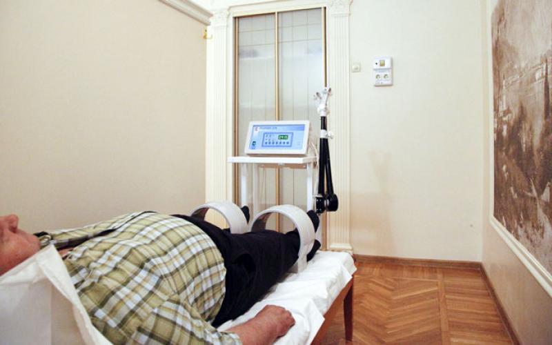 Лечение магнитотерапией в Санатории Красные камни в Кисловодске
