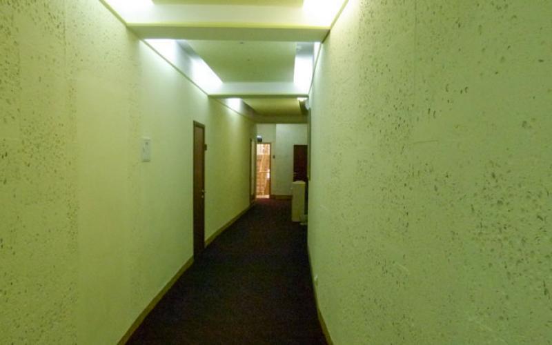 Санаторий Вилла Арнест в Кисловодске. Корридор в лечебном отделении