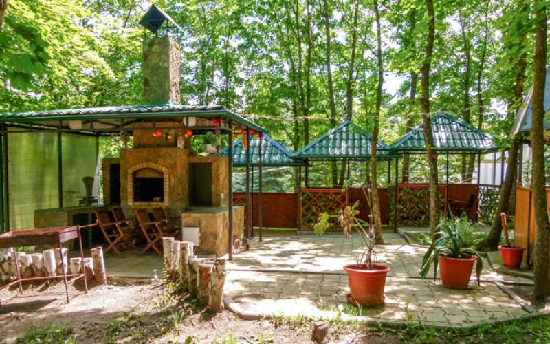Зона отдыха в санатории Вилла Арнест в Кисловодске