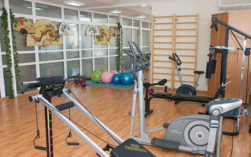 Спортзал в санатории Вилла Арнест в городе Кисловодск